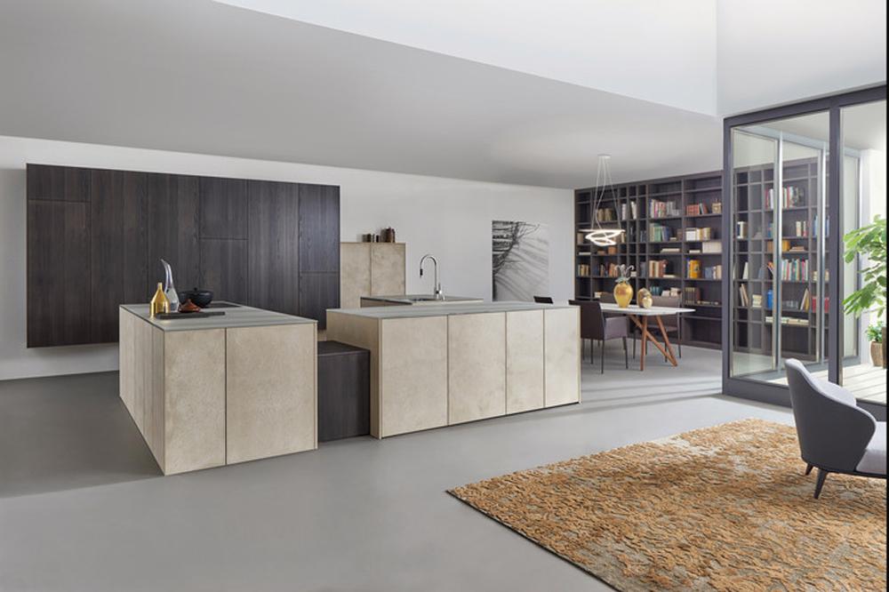 Küchen in Beton - Optik - Der Trend 2017 - www.saar-kuechen.de