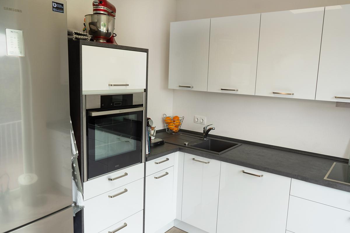 Küche weiß Saarbrücken