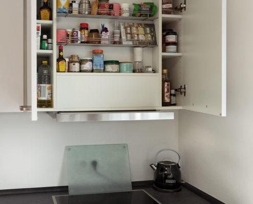Neue Küche Gewürzschrank