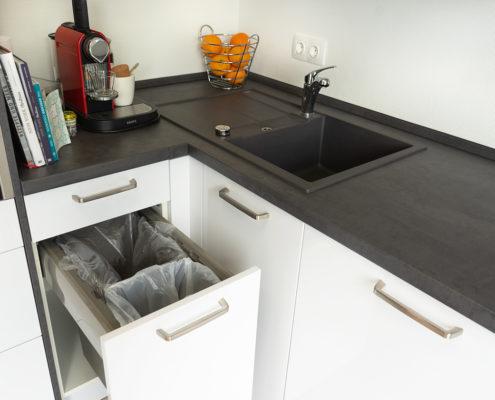 Kundenreferenz neue Küche klein