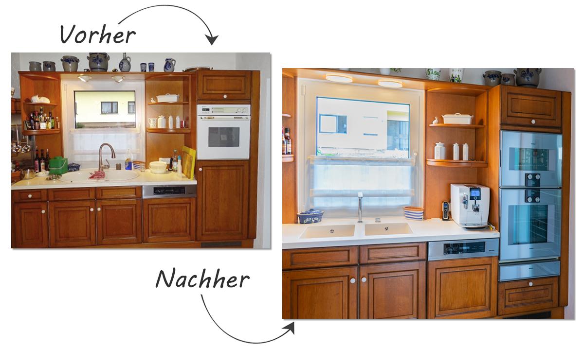 Kundenküche Illingen: Modernisierung einer einzigartigen Holzküche