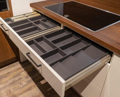SAAR Küchen Ordnungssysteme Besteckeinsatz