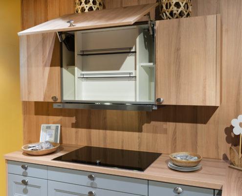 SAAR Küchen Ordnungssysteme Gewürz-Regal Dunsthaubenschrank