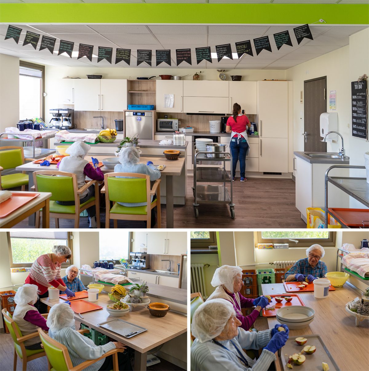 SAAR Küchen Schwesternverband Teeküche