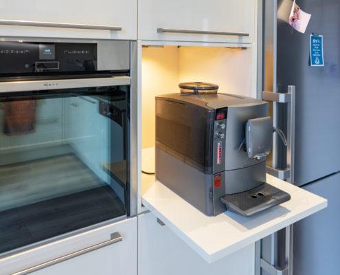 SAAR Küchen kleine U-Küche weiß Köllerbach