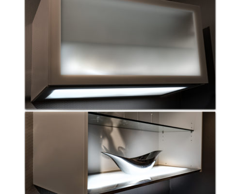 Indirekte Beleuchtung in der Küche — SAAR Küchen