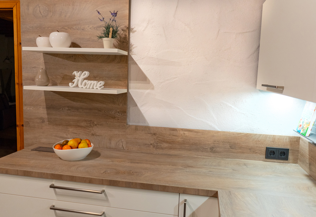 SAAR Küchen - Gemütlich Sitzplatz G-Form