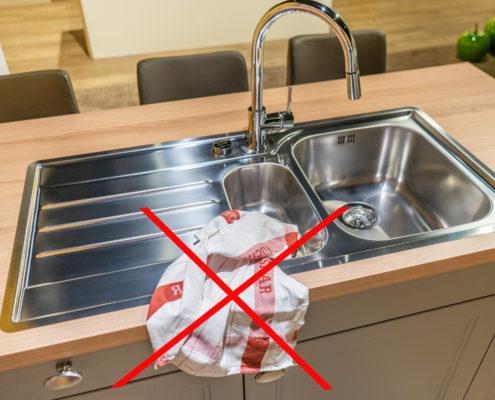 SAAR Küchen Tipps don'ts Staunässe
