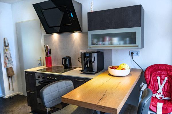 SAAR Küchen Kunde Landsweiler-Reden Beton und Holz