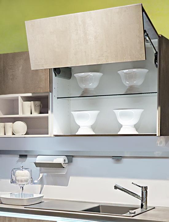 SAAR Küchen Ergonomie Lifttüren