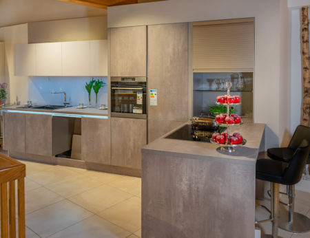 SAAR Küchen Comet Spachtelbeton