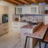 Saar Küchen Topline Magnolie mit Eiche-Sand