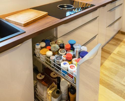 SAAR Küchen Kunde Saarlouis individuelle Schrank-Lösung